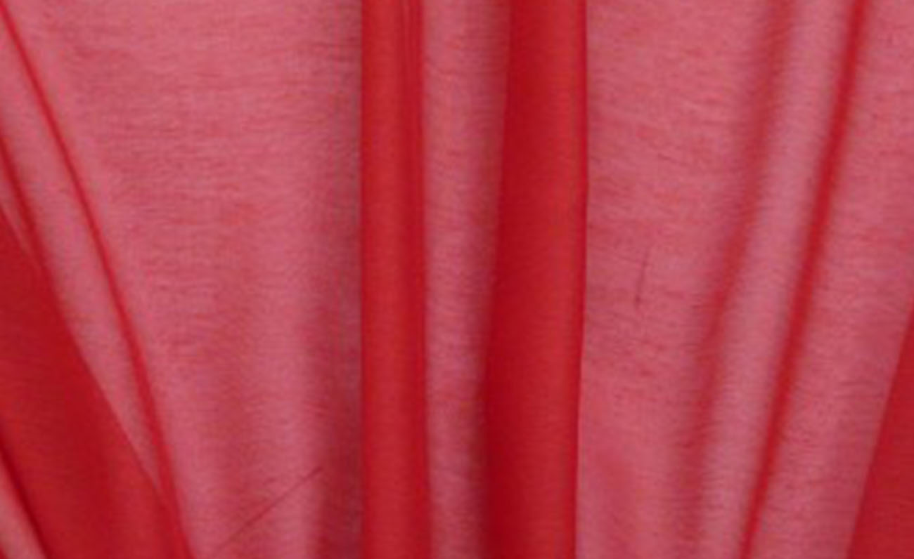 27748-Gardinenstoff-Meterware-KOS-einfarbig-rot