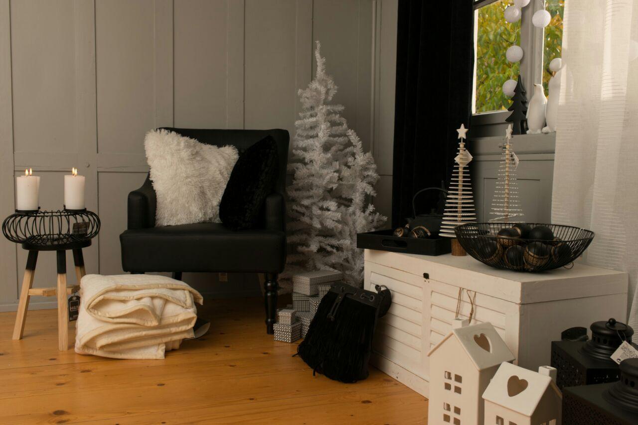Weihnachtstrend Black Christmas