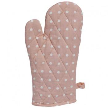 32982-Ofenhandschuh-Kochhandschuh-rosa-weiss-Punkte